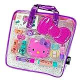 GBG Beauty Sanrio Hello Kitty Girls Cosmetics Tote Bag Gift Set Lip Gloss Compact Mirror