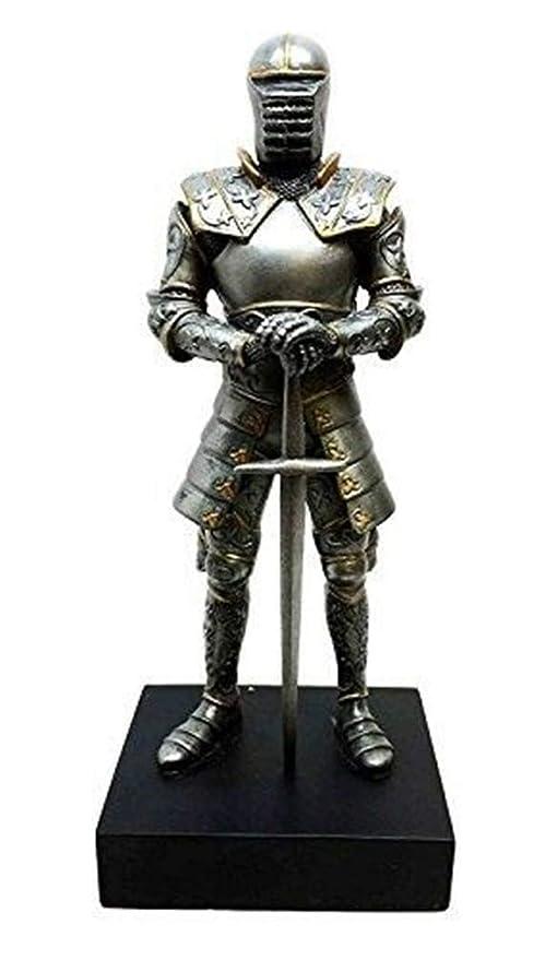 Amazon.com: YesKela - Figura de caballero medieval italiano ...