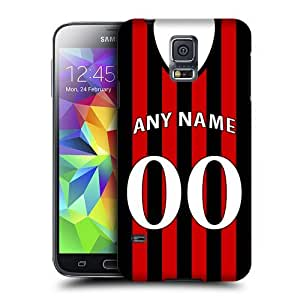 NICE CASE NICE CASE Personalised Fulham Football Shirt, Any Name, Any Number Snap-on Hard Back Case Cover for Samsung Galaxy S5 Mini (G800F Duos G800H) by ruishername