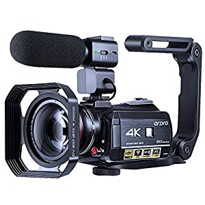 Flashandfocus.com 51YDCnIpPbL._SS300_ 4K Camcorder Vlogging Camera for YouTube ORDRO HDR-AC3 Ultra HD Video Camera 1080P 60FPS IR Night Vision Wi-Fi Camera…
