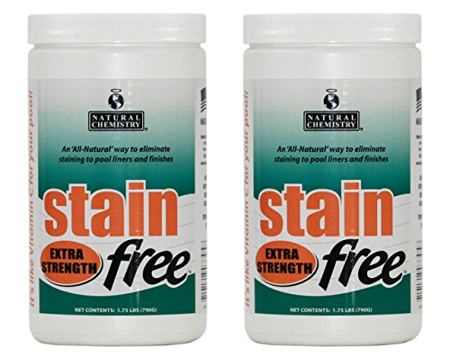 Extra Strength Metal (2) Natural Chemistry 07395 STAINfree Extra Strength Metal Stain Remover Buckets)