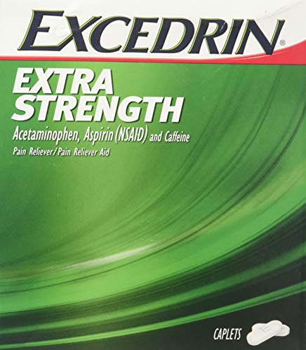 Excedrin Extra Strength Caplets 50 Packets of 2 (50/2's) Display Box (1) ()