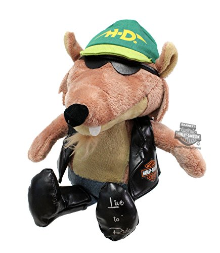 Harley Davidson Biker Club Road Rebels (Biker Teddy Bear)