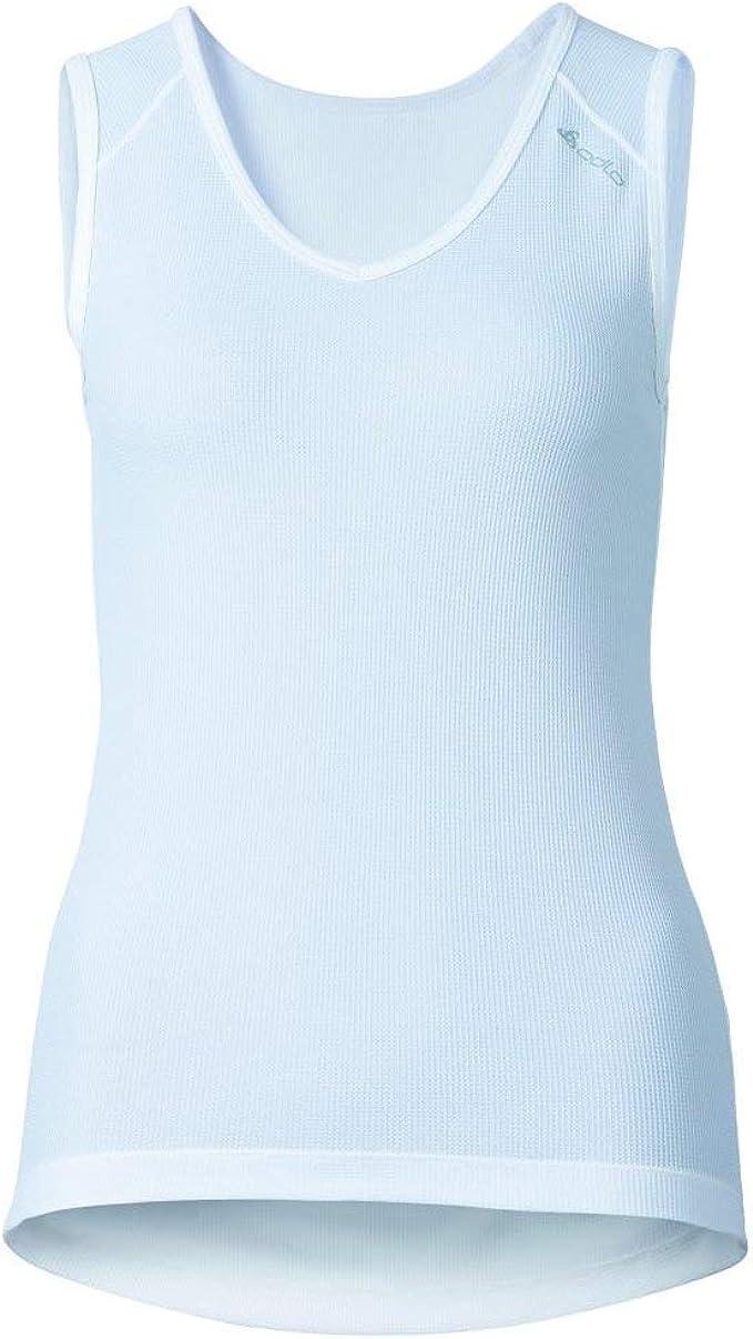 OdloCubic -Camiseta para Mujer, Cuello de Pico, Camiseta Interior