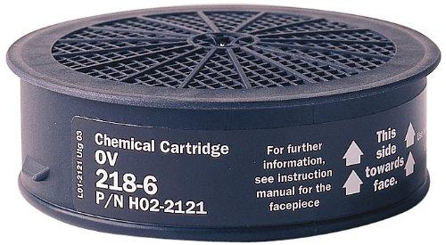 Sundstrom H02-2121 SR 218-6 Organic Vapor Chemical Cartridge