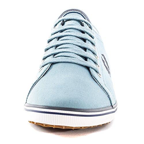 Fred Perry - Zapatillas de algodón para hombre Azul claro