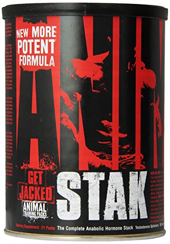 Universal Nutrition Animal Stak Natural Hormone Booster Supplement 039442030238