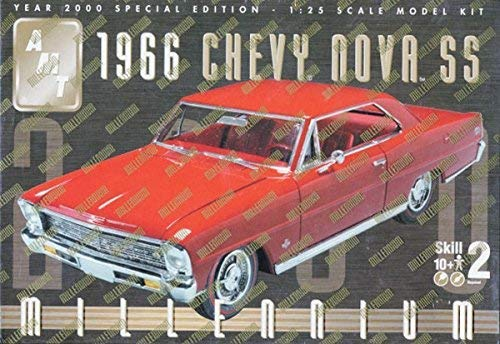 AMT 1966 Chevy Nova SS 1/25 Millennium Year 2000 Special Edition Model Kit