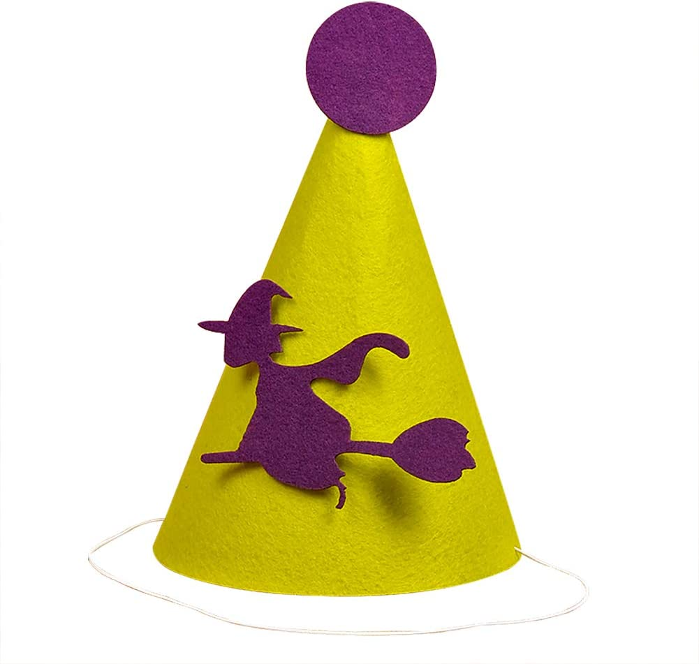 Gespout Creative Paper Cartoon Halloween Hat Party Props