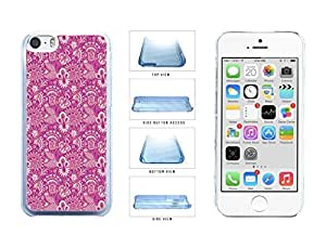 Filigree Pattern For Girls Clear Plastic Phone honey Case Back Cover get Apple just iphone 6 4.7 the