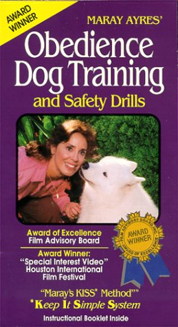 Maray's KISS Method: Obedience Dog Training and Safety Drills complete with an instructional booklet [VHS]
