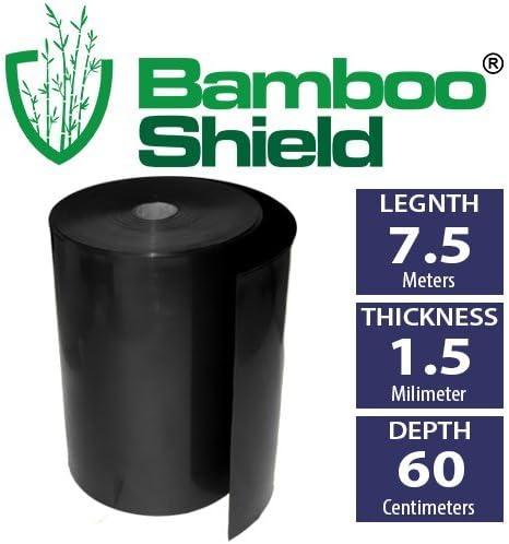 Bambú Shield – 60 cm de profundidad x 1, 5 mm de grosor – bambú ...