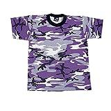 Rothco Kids T-Shirt, Ultra Violet, Small