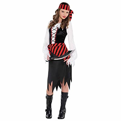 Costume Ado - Belle Pirate - taille 8-10 ans