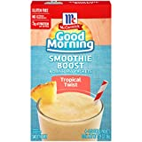 McCormick Good Morning Boost Smoothie Mix Packets , 1.28 Ounce (Tropical TwistPac, Pack - 4)