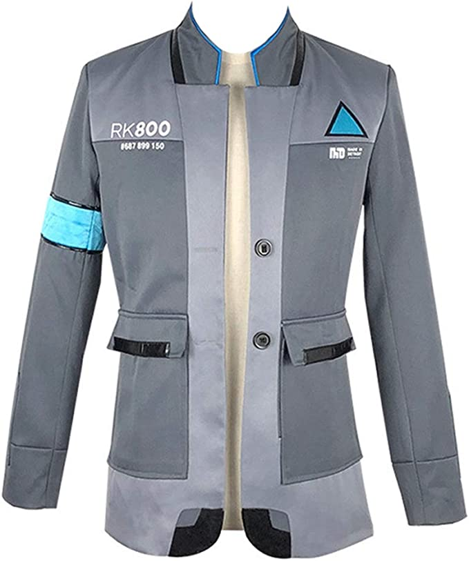 Amazon Com Rulercosplay Game Jacket For Detroit Become Human Cosplay Costume Clothing