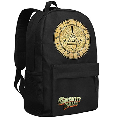 xcoser Bill Cipher Cosplay Backapack Schoolbag Large Capacity Students Bag]()