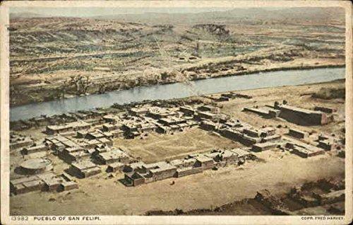 Amazon.com: Pueblo of San Felipi San Felipe Pueblo, New Mexico Original Vintage Postcard: Entertainment Collectibles