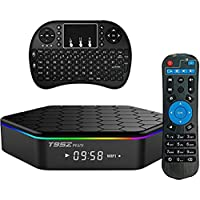 2017 OzTeck T95Z Plus Android TV Box, 3GB RAM/16GB ROM Android 6.0 Marshmallow Amlogic S912 Smart Mini PC support Octa Core 4K Resolution Dual Band WiFi 2.4GHz/5GHz Bluetooth 4.0