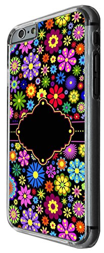 927 - Colorfull Daisy Live Love Laugh Design For iphone 6 6S 4.7'' Fashion Trend CASE Back COVER Plastic&Thin Metal -Clear