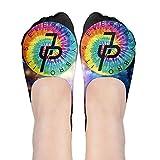 Jake Paul Rainbow Logo Polyester Cotton Deodorant Ankle Socks Non Slip Socks For Women Girl