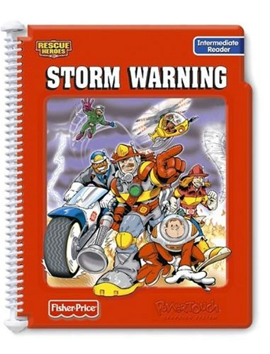 Power Touch Book: Rescue Heroes Storm Warning Intermediate Reader Book by Fisher-Priceの商品画像