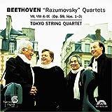 Beethoven - Rasumovsky Quartets Op 59, Nos 1-3