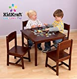 Dinner Table Chairs KidKraft Farmhouse Table and Chair Set Pecan