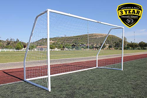 G3Elite Pro 6x4 Youth Regulation Soccer Goal, (1) 3.5mm Net, Strongest Portable 2