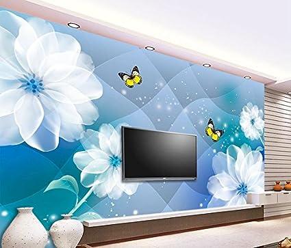 Chlwx 400cmx280cm 1575inx110196in 3d Wallpaper Giglio Fiori