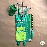 DINO laundry bag/bolsa ropa sucia/toys bag/bolsa para juguetes (40x70 cm área bolsa) canasto para ropa, cesto para ropa, bolsa para ropa sucia