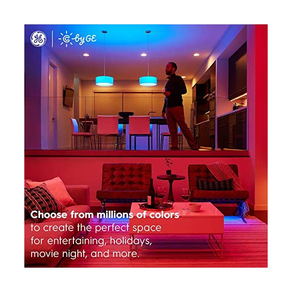 C by GE Full Color Direct Connect LED Strip Lights (80-inch Smart LED Strip Light + Power Supply), Bluetooth/Wi-Fi LED… 6