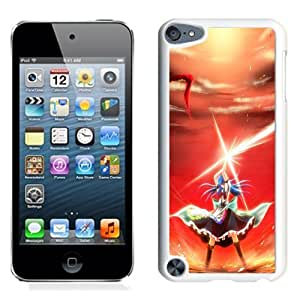 NEW Unique Custom Designed iPod Touch 5 Phone Case With Iron Attack Heaven Sword_White Phone Case