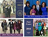 The First Family (4) Commemorative ''12 Page Calendar - Gift Set