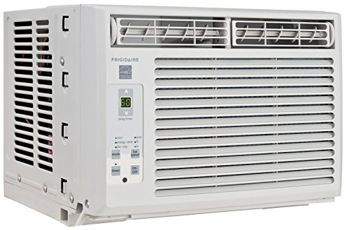 Frigidaire FFRE0533S1 5,000 BTU 115V Window-Mounted Mini-Compact Air Conditioner with Full-Function Remote Control (Air Conditioner Window Quiet)