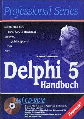 Delphi 5 Handbuch, m. CD-ROM