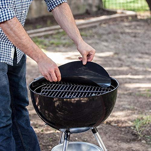 YISONG Tapis De Barbecue en TéFlon RéSistant Aux Hautes TempéRatures Tapis De Barbecue AntiadhéSif BBQ Tapis De Barbecue Tapis De Barbecue en Silicone Tapis De Barbecue en TéFlon
