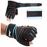 GOOTRADES Weight lifting Gym Gloves Training Fitness Wrist Wrap Workout Exercise Sports