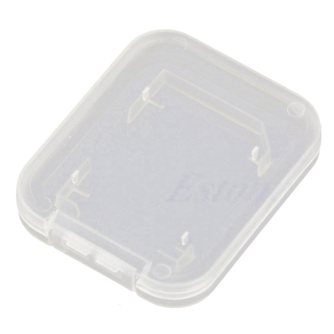 10 Pcs SD SDHC Memory Card Case Holder Protector Transparent Plastic Box Storage product image