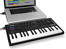 M-Audio Axiom AIR Mini 32 Midi USB-Keyboard und Pad Controller / Bild: Amazon.de