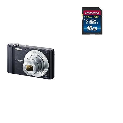Sony DSC-W810 - Cámara compacta de 20.1 Mp (pantalla de 2.7 ...