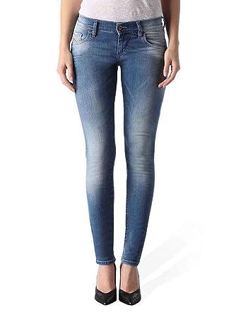 d3c6211f Amazon.com: Diesel Women Stretch Jeans Grupee 0670K Superslim Skinny ...
