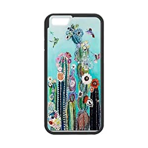 """cactus Custom Cover Case for iPhone6 Plus 5.5"""" by Nickcase"""