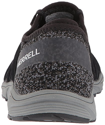 Running Black Women Riveter Black Shoes Merrell Knit OWUtfOx