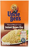 Uncle Ben's Fast & Natural Brown Rice, Instant, Whole Grain, 14 oz from Uncle Ben's