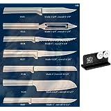 Rada Cutlery S38 7-pc Starter Gift Set + R119 Knife Sharpener