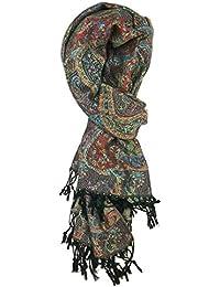ccf2b81543634 Tapestry Ethnic Paisley Pattern Pashmina Scarf