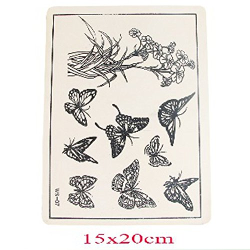 Artificial Emulational Tattoo Pretty Flower and Animal Practice Show Skin Pattern Novelty - Show Stores Fashion