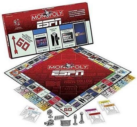 ESPN Monopoly by Monopoly: Amazon.es: Juguetes y juegos