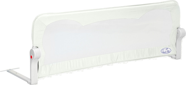 Barrera de seguridad. Barrera de cama para beb/é Modelo en blanco 180 cm